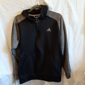 Adidas men's medium zip up hoodie